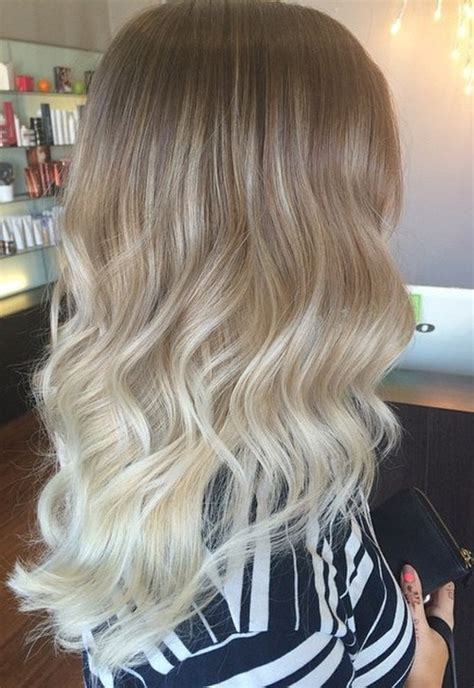 blondes with ombre photos 40 glamorous ash blonde and silver ombre hairstyles