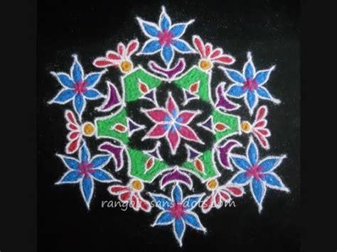 Lu Kolam sankranthi chukka muggulu designs rangoli with dots 15