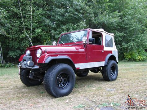 amc jeep cj7 1984 amc jeep cj7 304 v8 lockers gears lift more