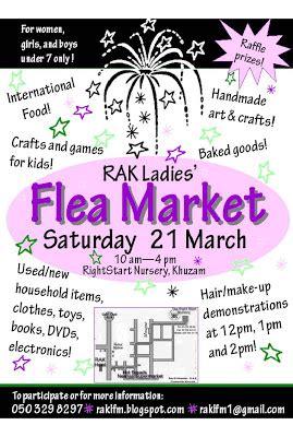 rak flea market rak flea market flyers