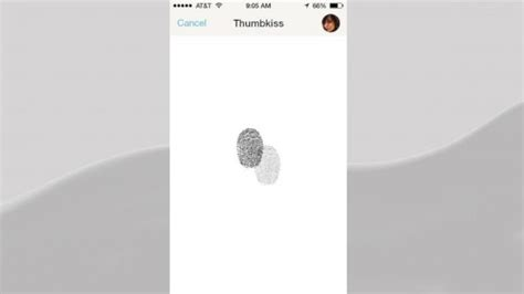 Thumbkiss App 5 Apps For Couples Hug Keep Tabs On Your Boo