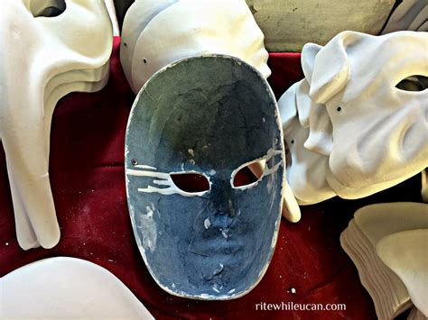 How To Make Paper Mache Masks On Your - paper m 226 ch 233 masks