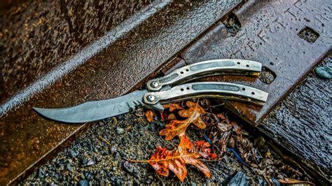 damascus steel knife cs go pattern making damascus cs go butterfly knife part 1 youtube