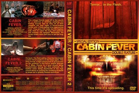 cabin fever 2 cabin fever cabin fever 2 dvd custom covers