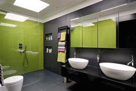 Salle De Bain Gris Et Vert salle de bain vert et gris