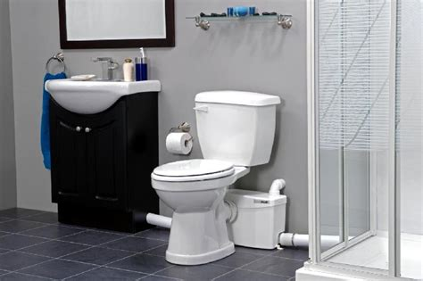 upflush toilets basement bathroom saniflo toilets aaron plumbing