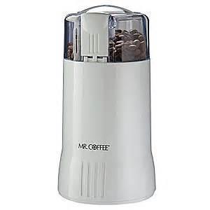 Mr Coffee Grinder Mr Coffee Coffee Grinder Electric White 12 Cups 6cdn1