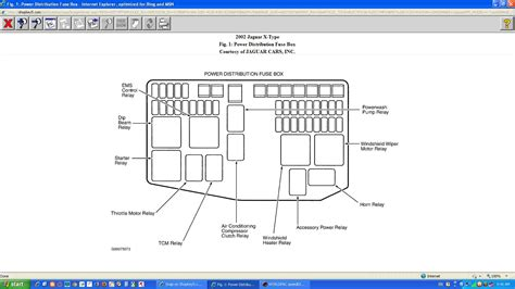 Jaguar X Type Fuse Box Diagram Fuse Box Diagram Jaguar X Type 2002 Box Free