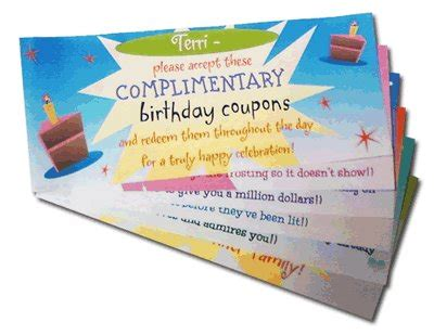 make cards coupon code birthday coupons coupon book happy birthday printable