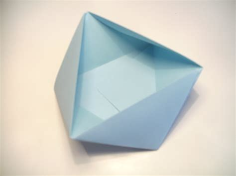 Origami Triangular Box - origami triangular box