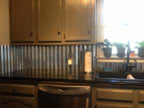 kitchen metal backsplash ideas corrugated metal backsplash home