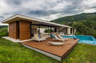 Modern House In Country sustainable modern country home in colombia drawing in the