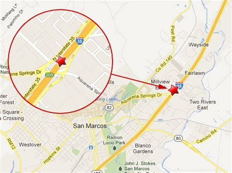 where is san marcos texas on a map semi truck crashes on i 35 in san marcos tx truck lawyer news