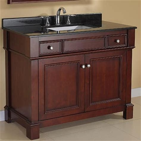 costco manchester 42 quot single sink vanity mission