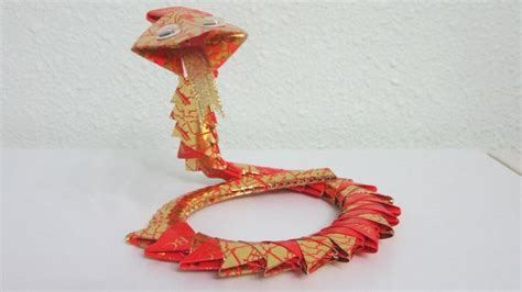 3d origami green snake tutorial 179 best images about craft chinese new year on