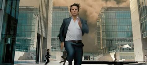 film tom cruise mission impossible 4 how much time has tom cruise spent running in movies