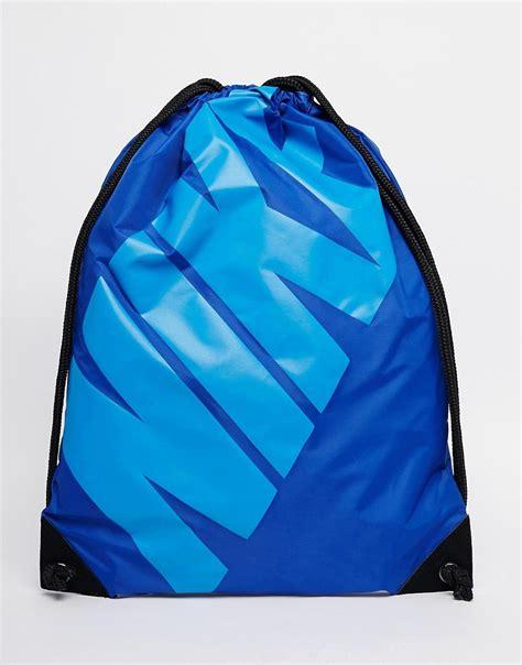 nike nike drawstring backpack at asos