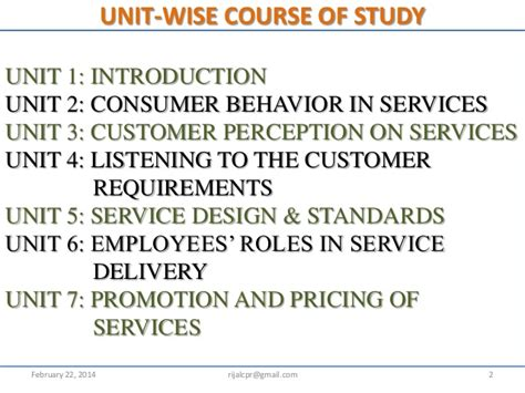 Mba 6931 Unit Viii Study by Introduction To Service Marketing