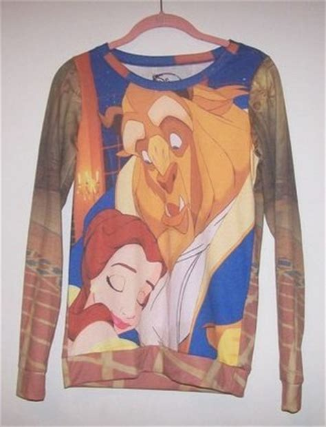 Sweater Beast Sweater 1 dolly disney and the beast pullover sweater size small from rabbit closet of the