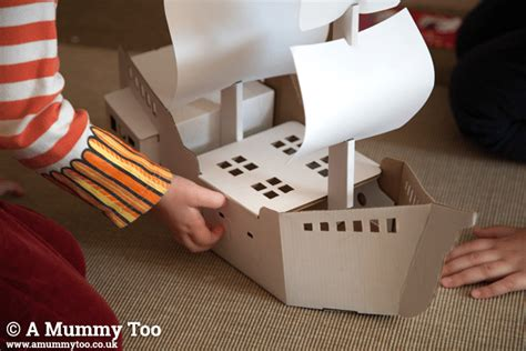 How To Make A Paper Battleship - win a calafant build and paint pirate ship a mummy