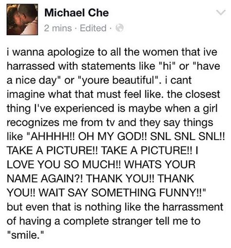michael che harassment with street harassment quot joke quot michael che becomes latest
