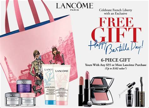 Free Gift With Purchasethis Just In From The Bod by Lancome Gift With Purchase Gwp In November 2014