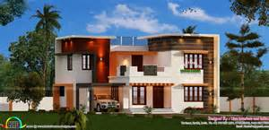 Modern Home Design 3000 Square Feet by Modern 4 Bedroom 3000 Sq Ft Kerala Home Design And Floor