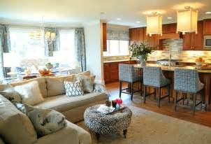 Living Room Into Open Kitchen Into Living Room Concepts Lowcountry