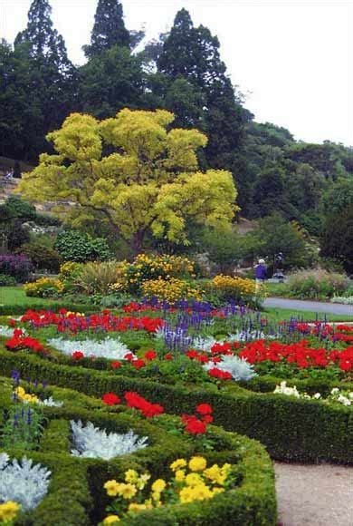 dunedin botanic gardens knot garden dunedin botanic garden gardens te