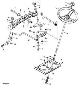 L Parts Deere X110 Tractor Spare Parts