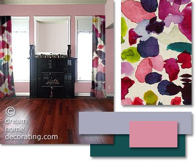 pink walls what color curtains furniture and curtain colours that match a cherry red