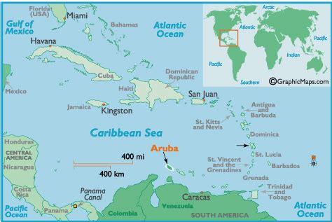 caribbean map aruba aruba map and aruba satellite image