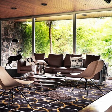 modern living room ideas with brown leather sofa modern living room with brown leather sofa living room