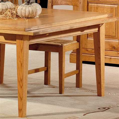 Table Basse Chene Massif 211 by Table Carr 233 E 120 Ch 234 Ne Massif