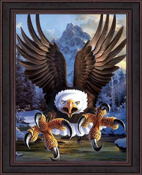Burung Elang 3d 20 gambar lukisan dinding ruangan 3d pemandangan alam dan