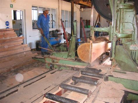 sawmill stenner vertical log bandmill breakdown