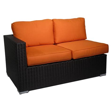 resin wicker sectional camden resin wicker sectional set
