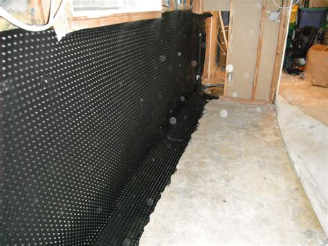 Waterproofing Interior Foundation Walls by Diy Exterior Basement Waterproofing Ideas New Basement Ideas