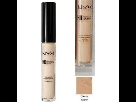 Concealer Wand Glow review nyx hd concealer wand color glow 6