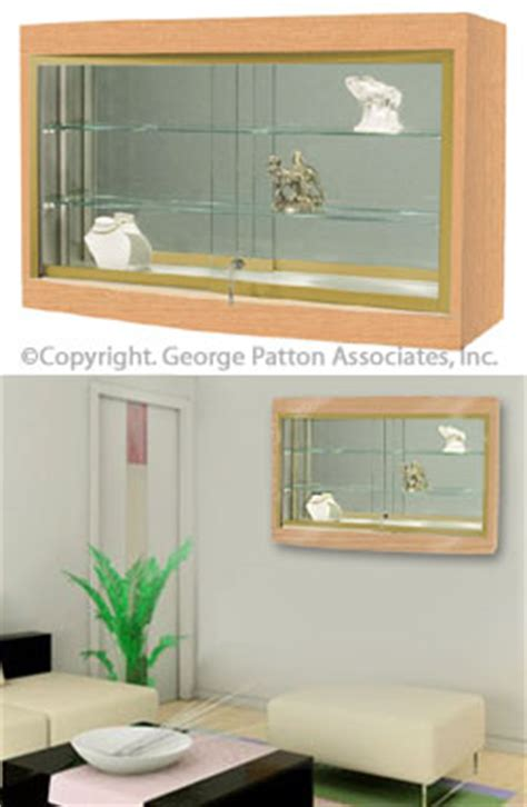 Built In Glass Display Cabinets by Buy Trophy Cases Today These Oak Showcases Are