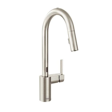 motionsense kitchen faucet faucet 7565ec in chrome by moen