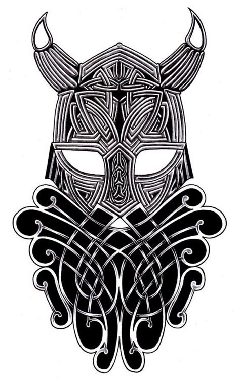 warrior tribal tattoo designs tribal viking warrior i like the idea but not so on
