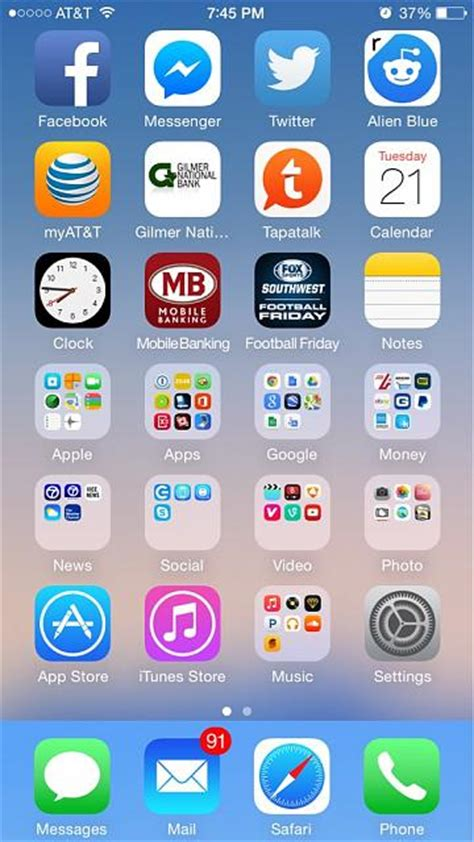 show us your iphone 6 homescreen page 10 iphone