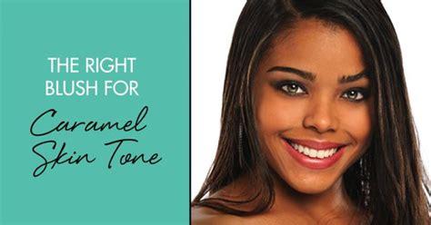 Best Toning Soap For Caramel Skin | the right blush for caramel skin tones weddbook