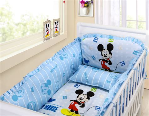 Mickey Mouse Crib Bedding Set For Baby Mickey Mouse Crib Bedding Set Home Furniture Design