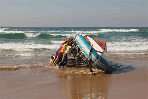 boat safety beach accident german tourists rescued after boat capsized on durban