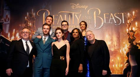 and the beast 2017 cast beast backlash not addressed at disney shareholders