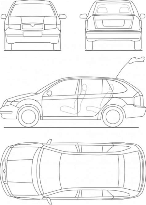 blueprint drawing free print car transportation drive blueprint photo free