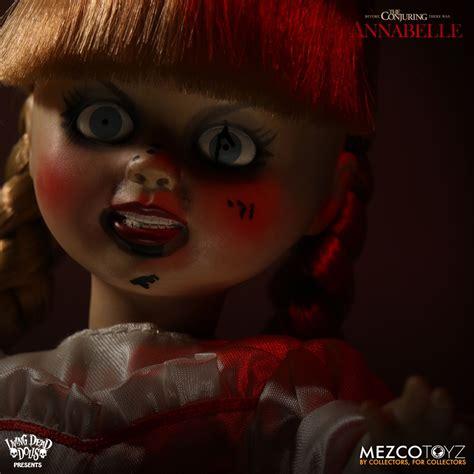 annabelle doll living dead living dead dolls ldd annabelle mezco toyz