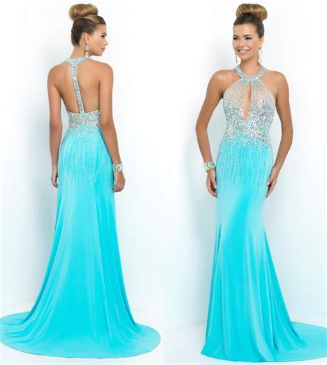 New Arrival Party Dresses 2015 Custom Fitted Halter